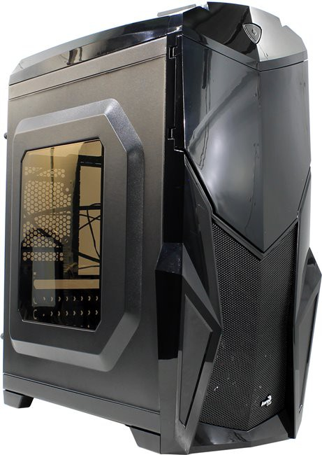 Корпус Aerocool Cruisestar Black (Midtower, ATX, USB3, Fan, Window)