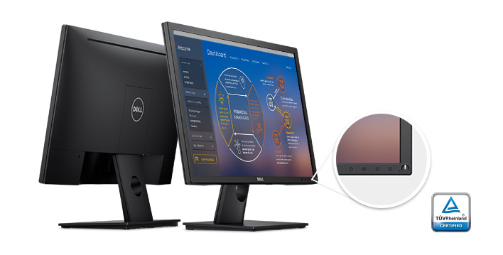 "Монитор 23.8"" Dell E2417H Black (1920x1080, AH-IPS, 1920x1080, D-Sub, DisplayPort)"
