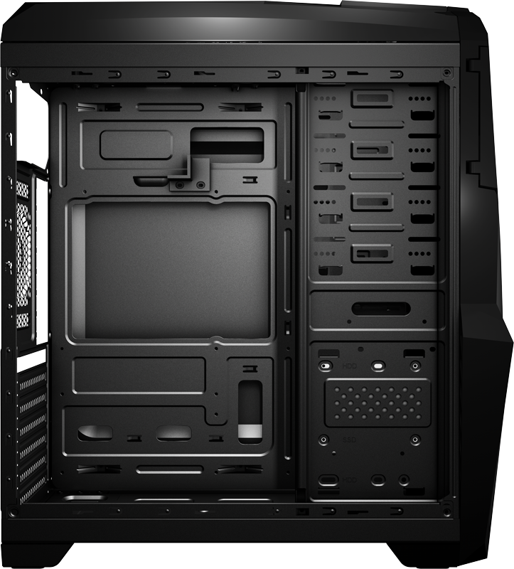 Корпус Aerocool Cruisestar Advance Black (Midtower, ATX, USB3, Fan, Window)