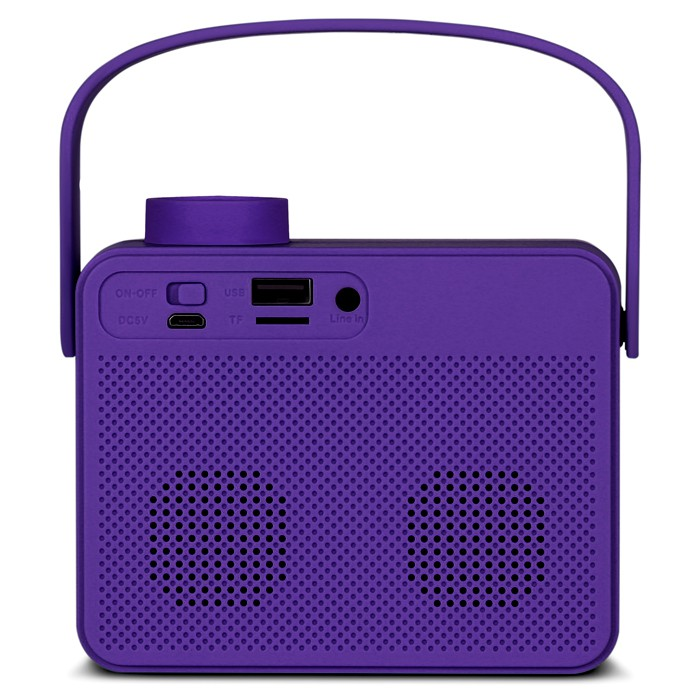 Колонки Sven PS-72 Violet (6W, Bluetooth, FM, USB, аккумулятор)