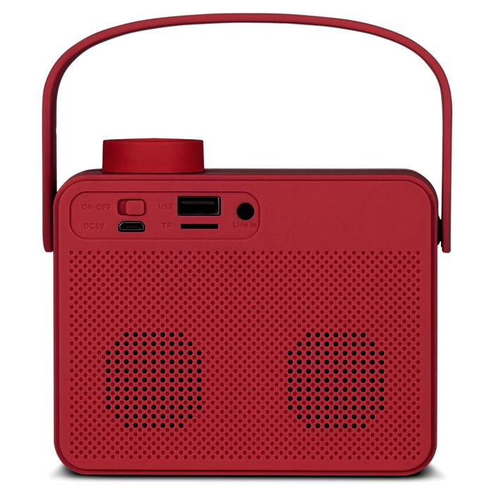 Колонки Sven PS-72 Red (6W, Bluetooth, FM, USB, аккумулятор)