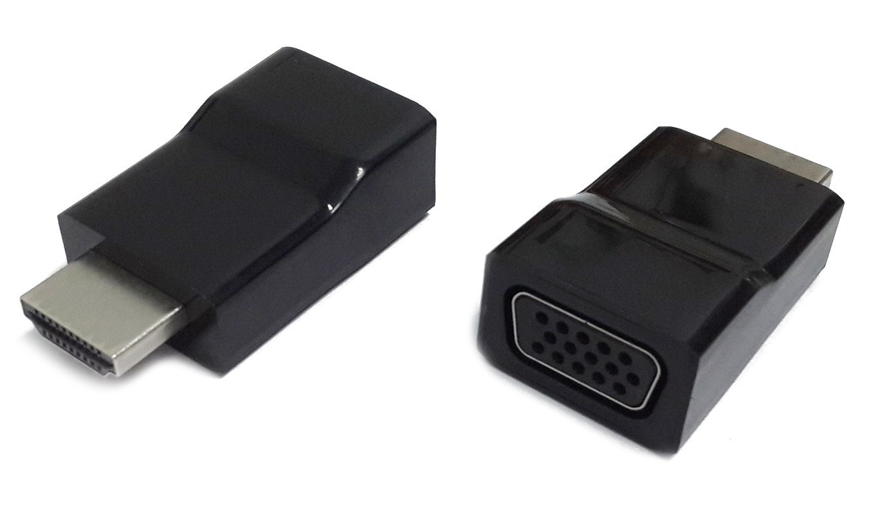 Переходник Gembird A-HDMI-VGA-001 (HDMI (male) to VGA)